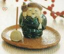 七福神 香皿【陶器香皿/香鉢/香立て/線香立て/消臭と癒し効果/かわいい/茶葉はほうじ茶が好き/アロマテラピー/アロマポット】