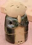 【お地蔵さん】お地蔵様香炉織部3.5寸/手づくり贈り物ギフト プレゼント プチギフト お線香立て 販売 御香 お香 香炉 アロマ 癒しグッズ 内祝い 快気祝い 引越し祝い 新築祝い
