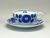 【波佐見焼】 【白山陶器】 【ブルーム】 【ティーカップ】ティーカップ&ソーサー