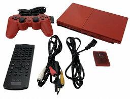 【中古】PlayStation 2 シナバー・レッド (SCPH-90000CR) 【メーカー生産終了】 [video game]