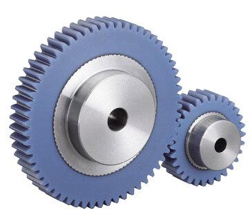 小原歯車工業 KHK PU2-25 平歯車 歯車 ピニオンギヤ プラスチック PU型 融着タイプ モジュール2