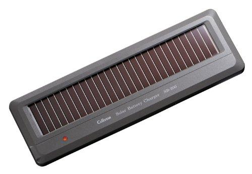 CellSTARセルスターDC12V専用ソーラーバッテリー充電器SB-200[配送区分:小型20kg]
