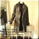 リアルムートンコート スタンダードスタイル コート/ レディース アウター ムートン 毛皮 羊革 スペイン イタリア トスカーナ 軽量 暖かい mouton coat ムートンコート カシミヤ ダウン ウール 05P03Dec16