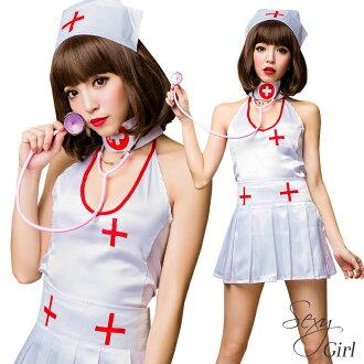 護士 cosplay 非產品白色白色護士帽白色護士服裝服裝 cosplay 護士下來設置單獨的性感護士服裝制服無袖無袖婦女萬聖節服裝