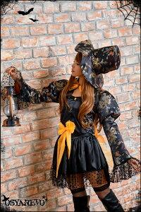 コスプレハロウィン魔女帽子コスチューム衣装仮装レディース魔法使い魔術師アリス帽子屋ファンタジーコスプレ衣装ウィッチハロウィン衣装大人