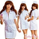 ナース服コスプレ衣装女医ナース大きいサイズ衣装仮装女医看護婦白衣コスチュームハロウィンコスプレコスチューム衣装