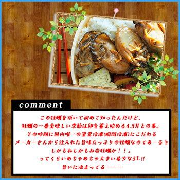 【エントリーでポイント5倍確定】広島県産牡蠣むき身1kg(NET800g)際立つ超大粒3Lサイズ冷粒カキかき冷凍食品惣菜
