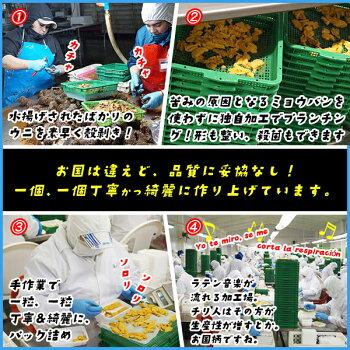 完全無添加天然生ウニ100g×3パックミョウバン不使用で更に美味しくうに雲丹寿司すしスシ海鮮丼