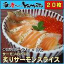 炙りサーモンスライス 20枚 お刺身、海鮮丼に 冷凍食品 鮭...