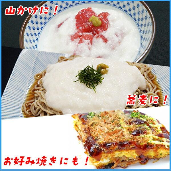 北海道産長芋のとろろ500g 冷凍食品 かけご飯 ご飯のお供