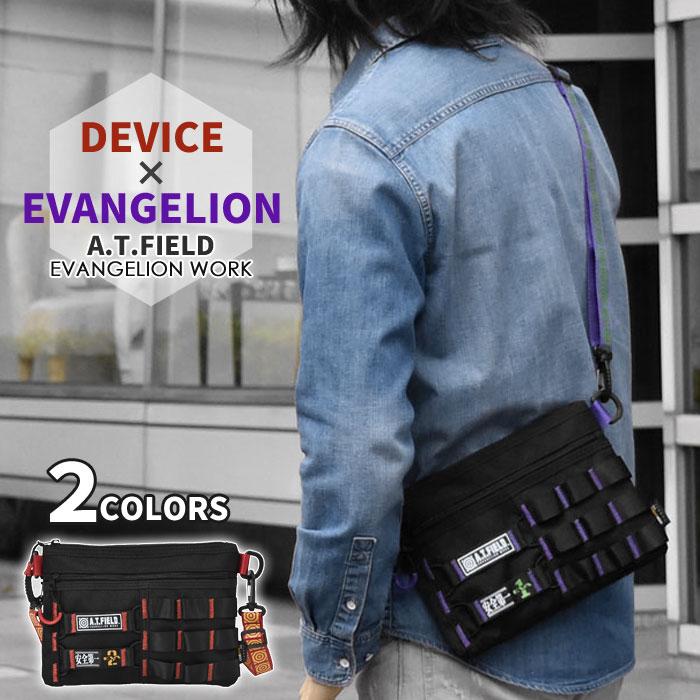 メンズバッグ, ショルダーバッグ・メッセンジャーバッグ  DEVICE A.T.FIELD AT EVANGELION Workson p