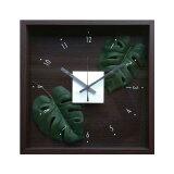 F-Style Clock Monstera 【掛時計】クロック モンステラ