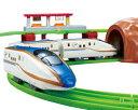 【玩具】タカラトミー【プラレール にぎやかアナウンス! サウンドE7系 新幹線 かがやき レールセット(通常版)】【包装区分:B/C】