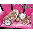 腕時計 レディース Disney ディズニー ミッキーマウス 本牛革ベルト スワロフスキー グリッター ミッキーシルエット腕時計 (fa-NFC120035/38) 腕時 本革 牛革 クロコ 型押し ステンレス 女性 おしゃれ かわいい シリアルNo 専用BOX グリッターで彩られたミッキーフェイス♪