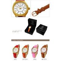 ミッキー八角形レディース腕時計