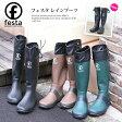 【送料無料】 FESTA レインブーツ レディース メンズ ラバーブーツ スノーブーツ アウトドア 雪かき 長靴 フェスタ ロングブーツ パッカブルレインブーツ (rs-rain-007) 災害対策やアウトドアに!クルクル折り畳みができるのでコンパクト!