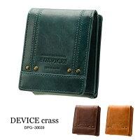 DEVICEcrass三つ折り財布