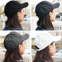 【送料無料】キャップ帽子野球帽レディースメンズワークキャップ無地ロゴユニセックス男女兼用Lulu&berryツバありシンプルキャップ(ar-COCAPm)黒ブラックホワイト白ピンクオシャレカジュアル