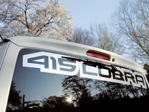 415コブラ(ラブラーク) ナロー用 STAGE1ルーフスポイラー 未塗装 200系ハイエース標準ボディ画像