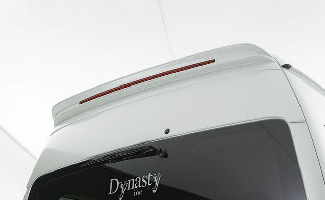 外装・エアロパーツ, リアスポイラー (Dynasty) EXIST EVO 4