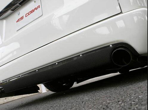 415コブラ(ラブラーク) ナロー用STAGE1 リアバンパースポイラー未塗装 200系ハイエース4型標準ボディ画像