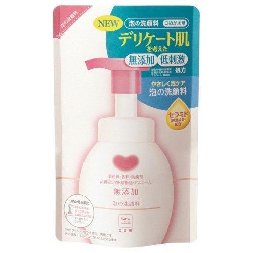 牛乳石鹸 カウブランド 無添加泡の洗顔料 つめかえ用 180mL