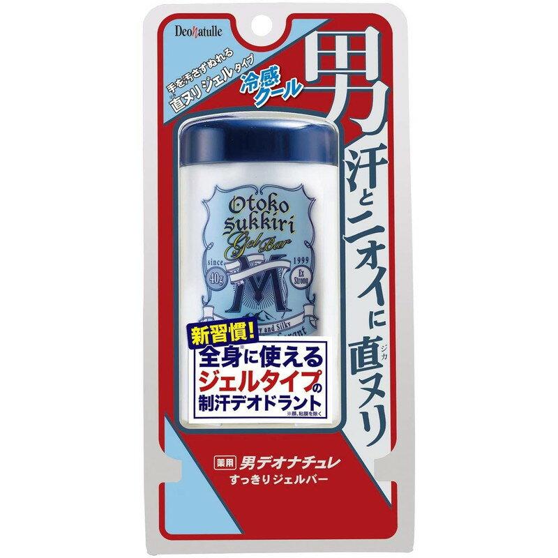 薬用男すっきりジェルバー / 40g