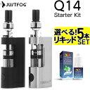 【リキッド5本付】JUSTFOG Q14 電子タバコ VAP...