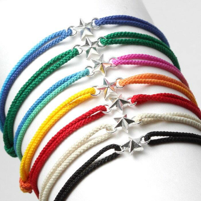 男女兼用アクセサリー, ブレスレット  SWING Tiny Star Code Bracelet Silver 7