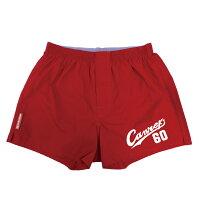 還暦 60歳 お祝い 還暦祝い 父 男性 パンツ 赤い 下着 肌着【Canreki トランクス】プレゼント 野球 ちゃんちゃんこ の代わり しゃれもん