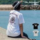 《isa オリジナルプリント Tシャツ / 2019年》IT007【10th. Anniversary Tシャツ】2019年新作isaTシャツ!!