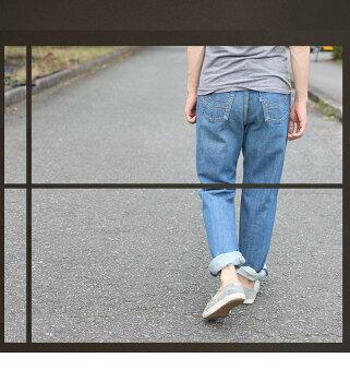 《デニム/ジーンズ》isaIM201Type6メンズ人気ブラックデニム高品質ワンウォッシュポケット刺繍股上深い定番ストレートジーンズ黒潮ジーンズ![裾上無料]※)今ダケレビューを書いて送料無料!