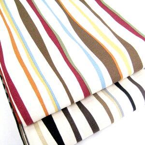 『八寸と半巾の帯結びがこの1本で』【粋夢】六寸帯 縞&水玉/リバーシブル 10P05July14