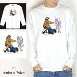 【送料無料】Painter ロンT/グラフィティーライターが描いたのはカラフルなBASS!ルアー!釣りパーカー!釣りT!ルアー!釣りガール!釣りTシャツ!タイラバ!バス釣り!エギング!ロックフィッシュ!シュノーケル!スキューバダイビング!お洒落