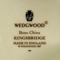 ★ウェッジウッド/Wedgwoodキングスブリッジ/KINGSBRIDGEティーカップ&ソーサー(ピオニー)新入荷【中古】