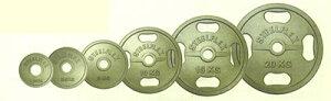 【バーベルプレート】 YY 20kgアイアンバーベルプレート 50mm孔径