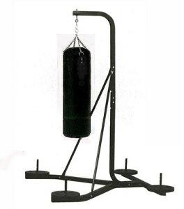 【サンドバッグスタンド】自室が格闘技の道場に! 「格闘技道場セット」(サンドバッグ・スタンド・グローブ・計20kgプレート付)