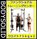 【動画参照】【ケーブルマシン】Bodysolid ボディソリッド ファンクショナルトレーニングセンター GDCC210