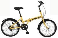 【メーカー直送のためき】【折りたたみ自転車】HUMMERFDB20R20インチ折畳自転車MG−HM20R