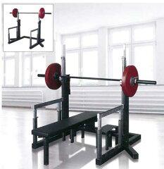 【オリンピックベンチ】ベンチプレス トレーニング器具 ウエイトトレーニング セイフティスタン...