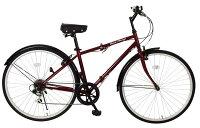 【メーカー直送のためき】【折りたたみ自転車】ClassicMimugoFDB700c6S折畳みクロスバイクMG-CM700C