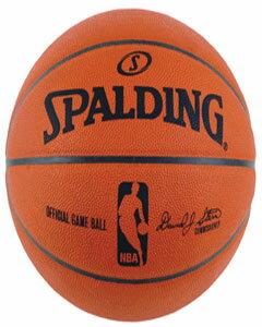 【スポルディング バスケットボール】スポルディング オフィシャル NBA ゲームボール 74-233Z