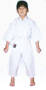 【幼児用柔道着】ミツボシ 幼児用柔道着 上衣+ズボン+白帯セット 色:ホワイト J-22003 幼児用3号(90〜100cm)