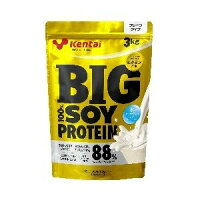 【ソイプロテイン】健康体力研究所BIG100%ソイプロテイン3kg