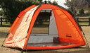 折り畳み傘のように開くだけで簡単に設置、ワンタッチテントL.I.D. ワンタッチテント OT2