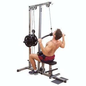 【ジムマシン】背筋トレーニング用マシン。トレーニング時の握力をサポートする「パワーグリッ...