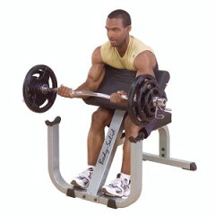 【プリチャーカールベンチ】ニ頭筋・三頭筋を鍛えるならこのベンチ。トレーニング時の握力をサ...