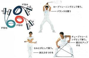 【ジャンプロープ】セラバンド フィットネストビナワ (色:グリーン) FTS13