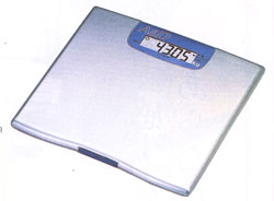 デジタルヘルスメーター50g単位表示【体重計】ハタ デジタルヘルスメーター50g単位表示  UC-321