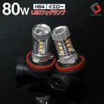 (楽天フォグランキング常に受賞)12W級H8H11H16HB480WLED仕様で実質12W級の明るさ!!CreeLED採用品LEDバルブ(フォグ・コーナーリングランプなどに)アルファードヴェルファイアヴォクシーノアアクアNBOX